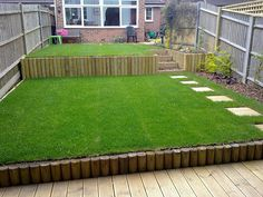 Bilderesultat For Small Steep Garden Ideas Garden Pinterest