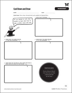 Worksheets, Self control and Worksheets for kids on Pinterest