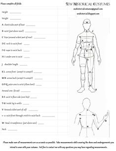 1000+ images about Sewing: Measure and Croquis on