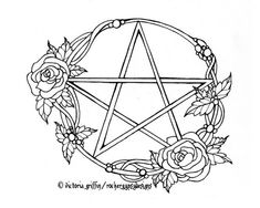 1000+ images about Wiccan: Pagan Coloring Pages on