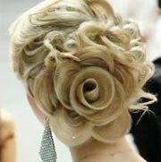 1000 rose bun wedding