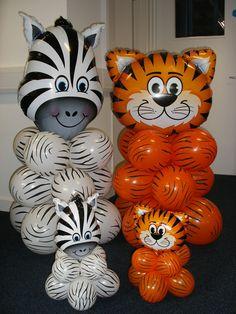 8 safari animals clip art