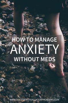 5 ways to manage anx