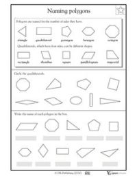 Names Of The Different Polygons | New Calendar Template Site