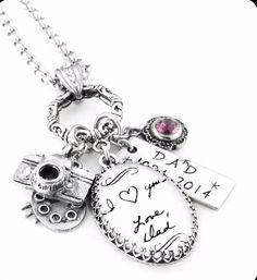 14 Amazing Handwritten Jewelry Gift Ideas Made Using Your