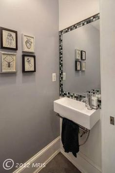 1000 images about TINY Powder Room on Pinterest  Tiny powder rooms Powder rooms and Sinks