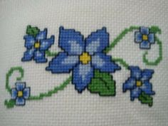 Floral Cross Stitch Sewing And Embroidery Pinterest Stitches