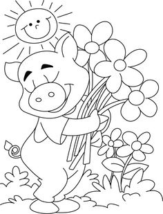 Jumping Frog color page, animal coloring pages, color