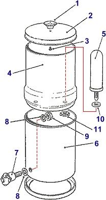 Home Made Berkey Water Filter. Make this water filter for