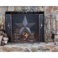 1000+ images about Iron fireplace screens on Pinterest ...
