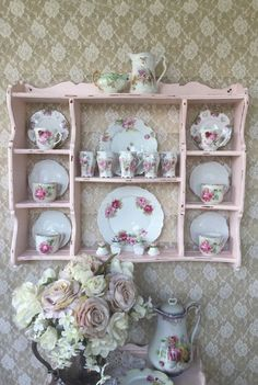 Room For ALL My Tea Cups Teapots Pinterest Cupboards Tea Cups And Cups