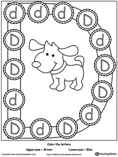 Students can practice matching the uppercase letters to
