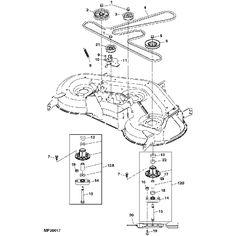 Pin by RunGreen.Com on John Deere Replacement Mower Decks