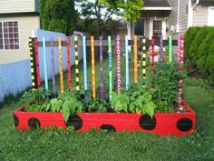 Colorful Garden Path Cool Idea For Kids Garden Ideas You Can