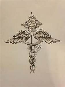 Lifeline Quotes Wallpaper Nurse Caduceus Tattoo Medical Symbol Tattoos Full