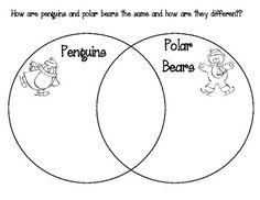 pattern block polar bear template | Winter ThemeSnow, Penguins, Polar Bears | Pinterest