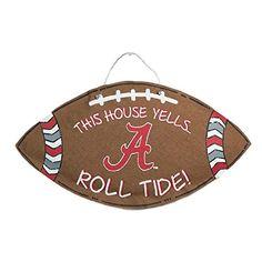 Alabama Crimson Tide Wreath Wreaths Wall Hangings Pinterest