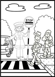 First Aid coloring page...good time-killer if needed