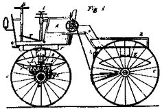 On April 3, 1885, Gottlieb Daimler applied for a patent on