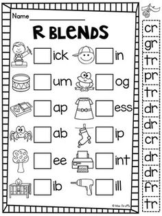 WR KN GN (Silent Letters) Worksheets & Activities {NO PREP