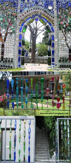 Turn Wine Bottles Into An Outdoor Wall These Are The BEST Garden