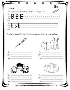 Letters, Homework and Kindergarten on Pinterest