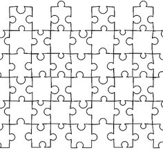 Puzzles, Counseling and Group on Pinterest