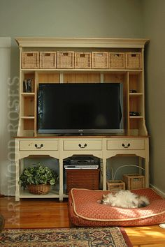 Dining Hutch on Pinterest  Cabinets Kitchens and Dining