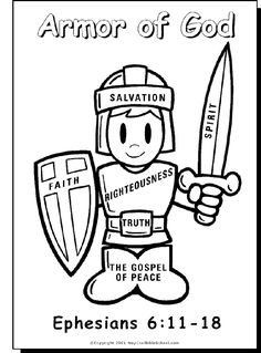 1000+ images about Armor of God Eph. 6 on Pinterest