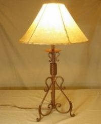 (3) Wrought Iron Floor Candle Holders Set; Antique finish ...