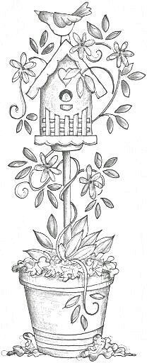 Adult Coloring Pages Flower On A Vas For Free