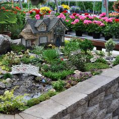 Fairy Garden By Onycha How's About This For Your Back Yard