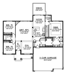1000+ images about House Plans under 1800 sq. ft. on