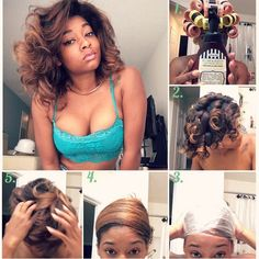 1000 ideas about roller set on pinterest perm rods different curls and hair roller