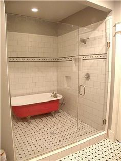 1000 Images About Clawfoot Tub Shower On Pinterest Tubs