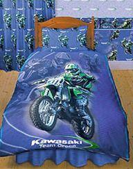 motorbike bedding | Dirt Bike Bedding | boys room ...