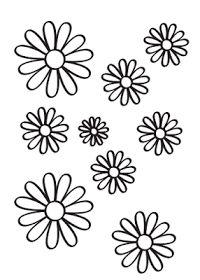 Flowers coloring Dibujos de flores para pintar en httpdibujosparacoloreareuroresidentes
