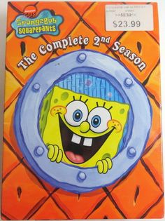 Spongebob Squarepants Complete 1st Season DVD Box Set 3