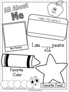 Preschool Lesson Plan Template Printable for Child Care