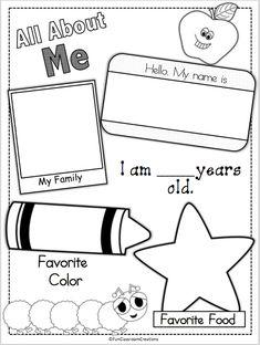 Preschool Lesson Plan Template Printable for Child Care