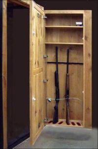 Plans to build Homemade Gun Cabinet PDF Plans