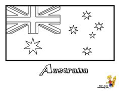 Flag of Great Britain/England/United Kingdom Flag Coloring