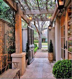 Side Yard Ideas Google Search Backyard Designs Pinterest