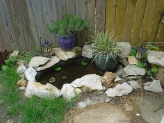 Pond Ideas For Small Space Yard Pinterest Pond Ideas