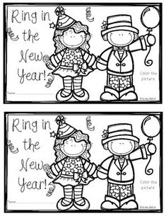 new years 2017Just a little freebie set of boy and girl