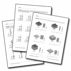 Touch Points math posters, bookmarks, and desk reference