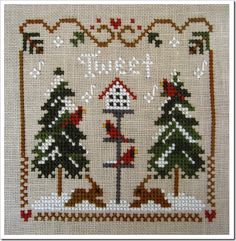 """ONE OF A KIND JUNE """"CROSS Stitch Wzorcownia"""" Ria Lanser"""
