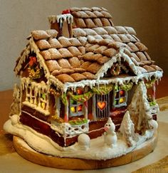 Homemade Gingerbread House's & Frosting Recipe Homemade