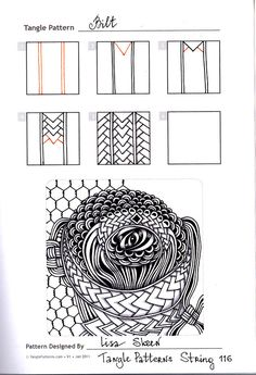 Download PDF One Zentangle A Day A 6 Week Course in