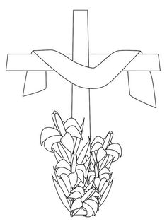 Jesus Risen Empty Tomb of Jesus Coloring pages for kids